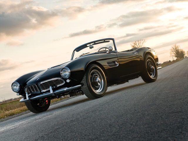 1959 Bmw 507 Roadster Goes To Auction Bmw 507 Bmw Classic Cars Bmw