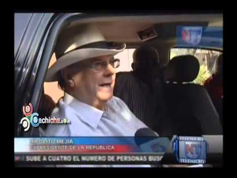Hipólito Mejía está dispuesto a negociar con Miguel Vargas #Video - Cachicha.com