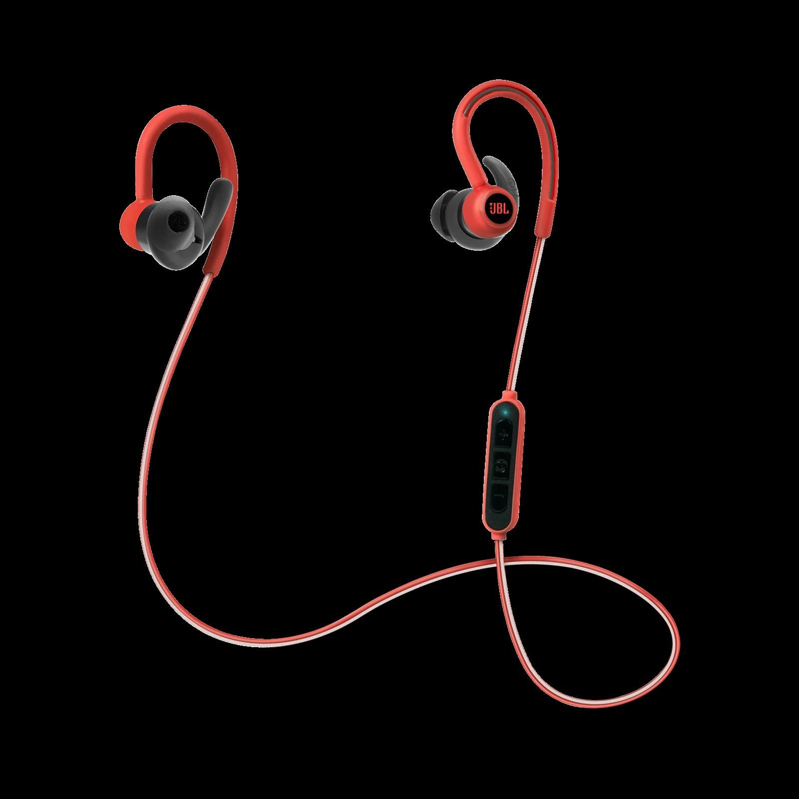 9966a1b5dea JBL Reflect Contour Bluetooth Wireless Sports Headphones Red in 2019 ...