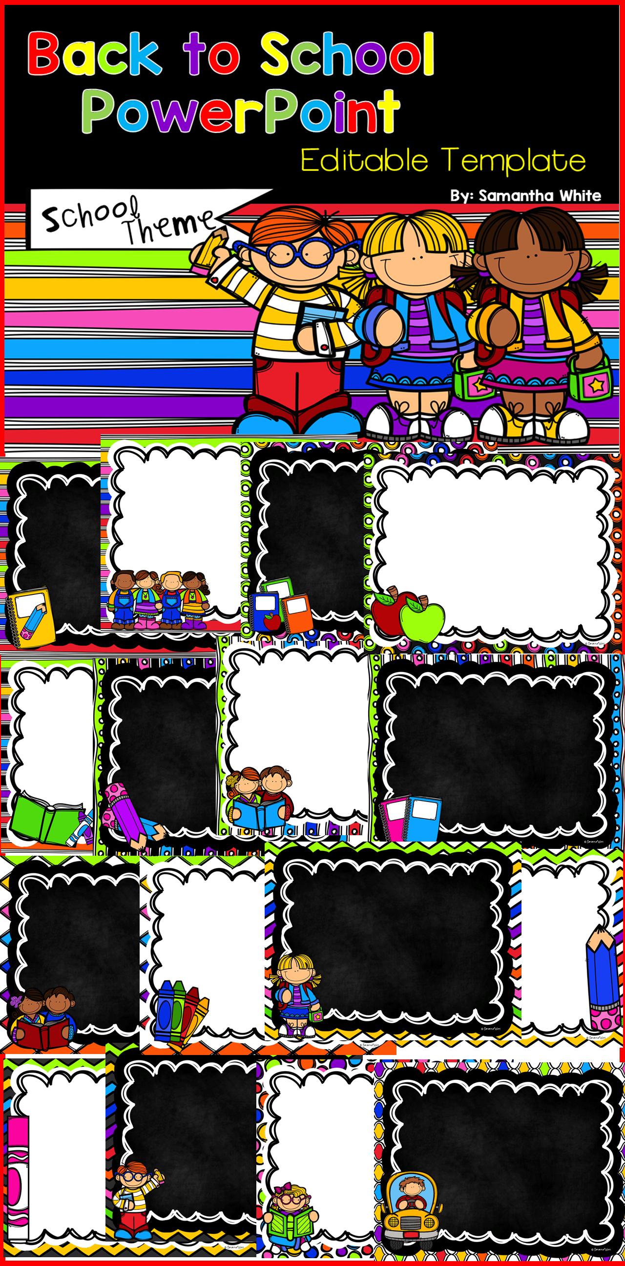 Back to school editable powerpoint school theme school themes back to school editable powerpoint school theme alramifo Image collections