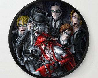 Image Result For Undertaker Black Butler Full Body Handmade Clocks Hand Coloring