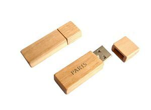 Wood USB 2.0 Flash Drives,High Speed Flash Storage Drive Memory Stick 4GB Compatible with PC MAC Notebook