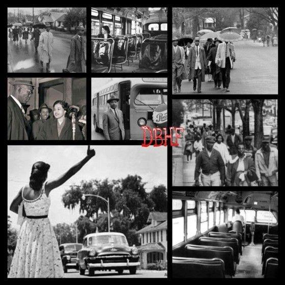 December 5 1955 The Montgomery Bus Boycott Begins Montgomery