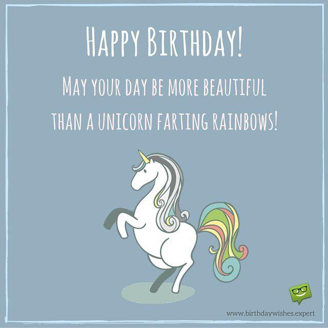 Funny Unicorn Birthday Quotes
