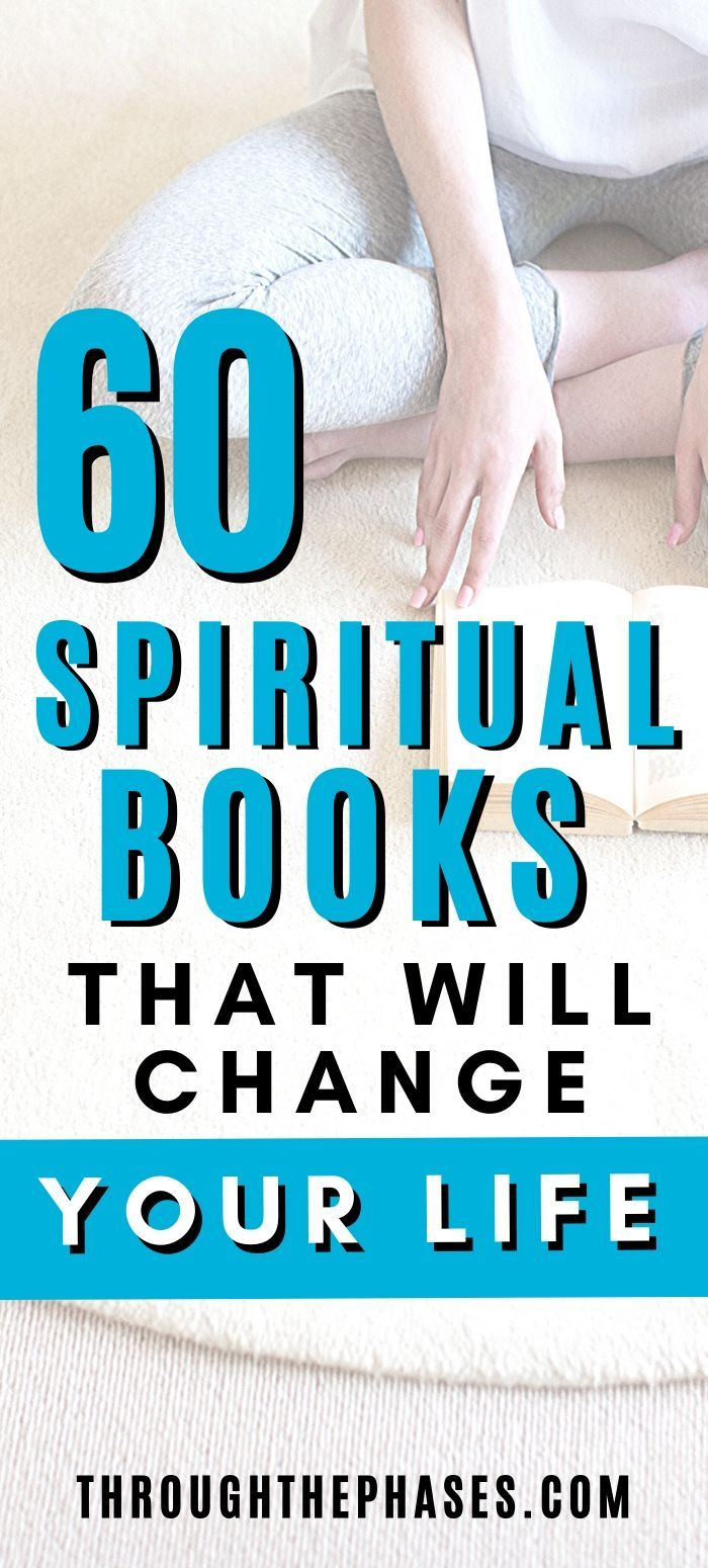 The 60 Best Spiritual Books of All Time! | Through the Phases
