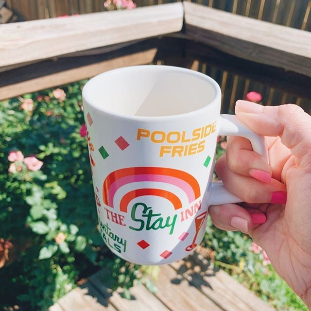 Hot Stuff Big Ceramic Mug Staycation in 2020 Mugs