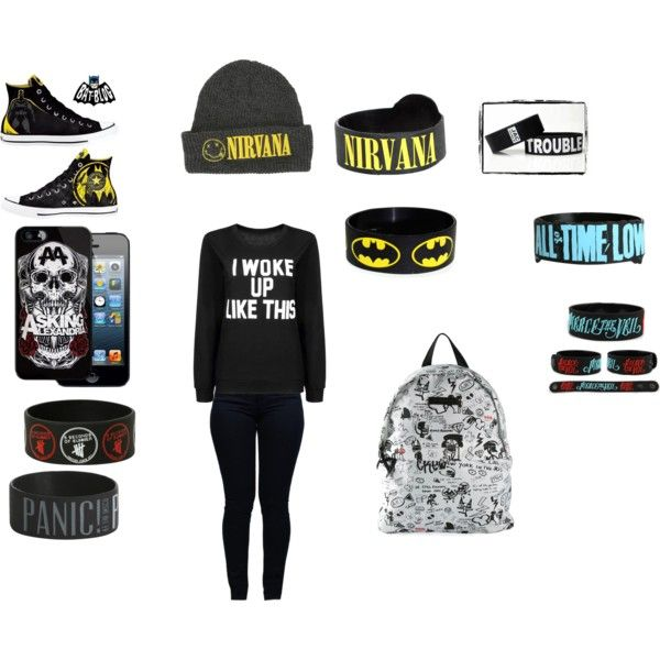 I woke up like this by plzexusemyclumsiness on Polyvore featuring Armani Jeans, Dsquared2 and Converse