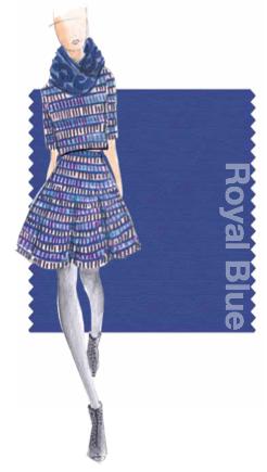 Pantone 2014 Fall Color Trend Royal Blue