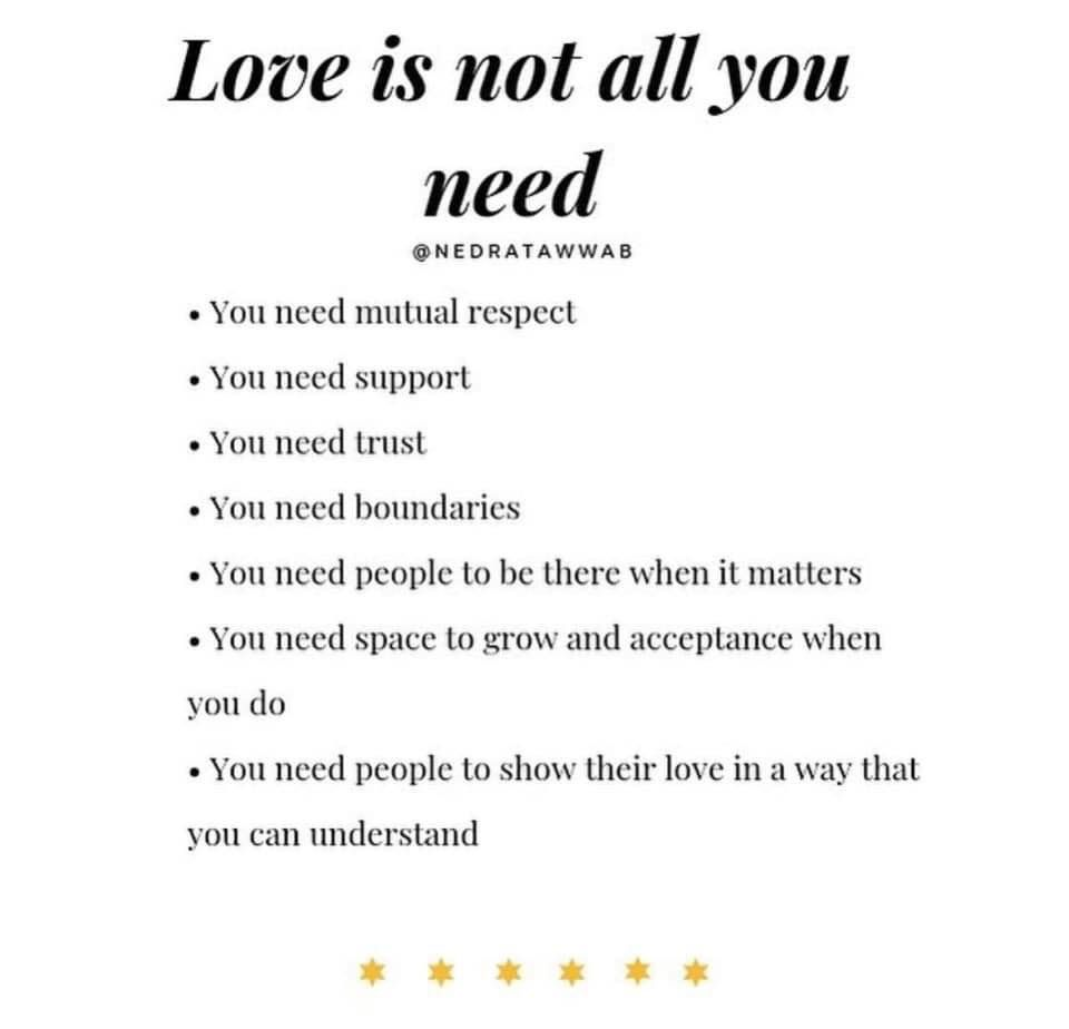 Pin By Veronique Breugelmans On Quotes About Life Love Is Not Enough Mutual Respect Respect Quotes
