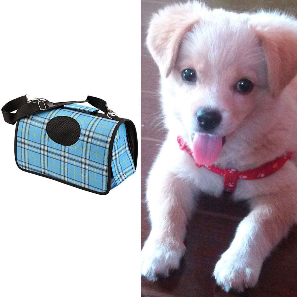 8de7f64bb31a PET TRAVEL BAG FOR DOG PUPPY CAT KITTEN RABBIT CARRIER CAGE CRATE HANDBAG TOTEBY