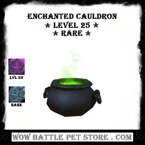 Enchanted Cauldron Lvl 25 Wow Battle Pets For Sale Warcraft Pets