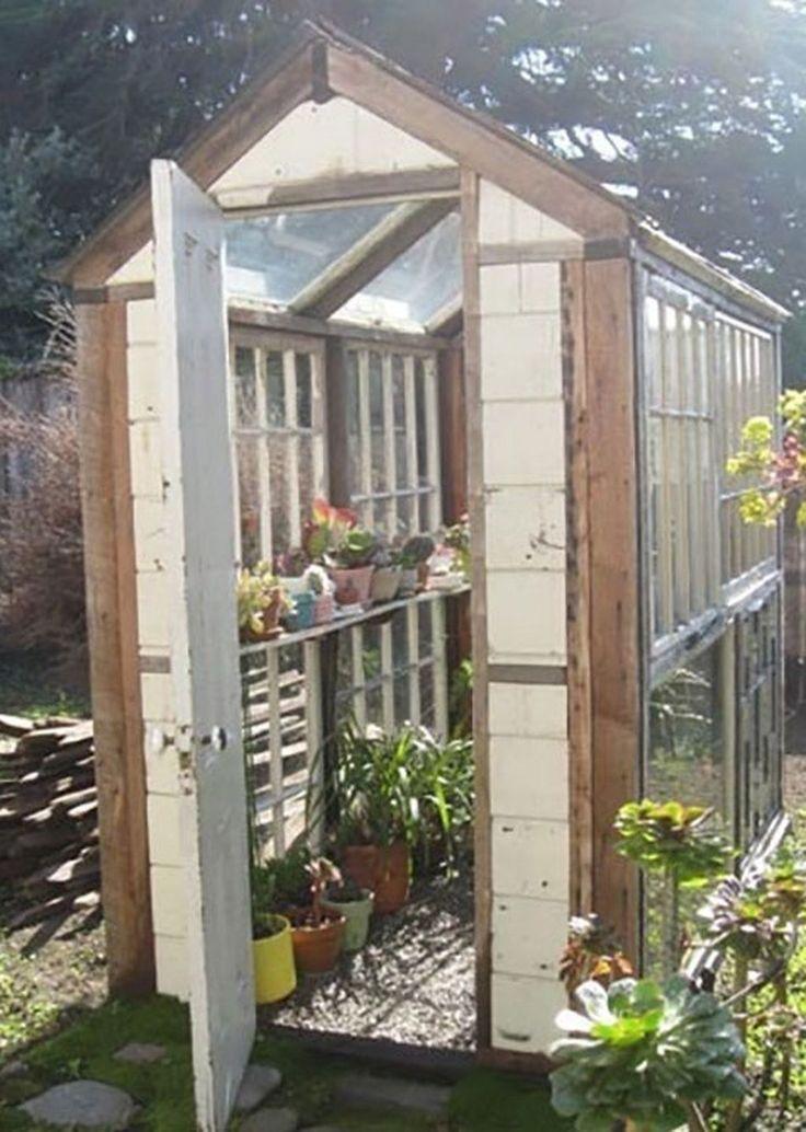 10 Easy DIY Greenhouse Plans in 2020 Diy greenhouse
