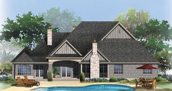 the chesnee house plan images - see photos of don gardner house