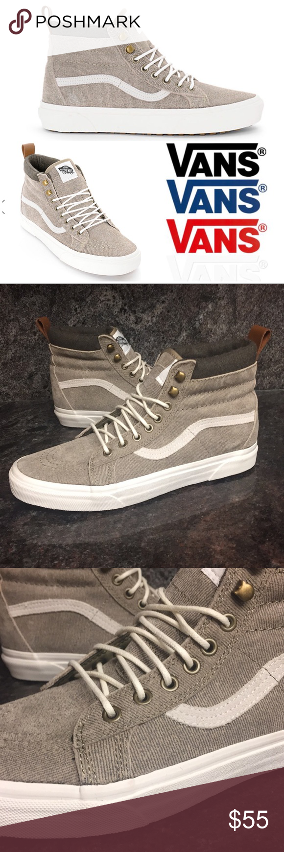 ... incredible prices 397da 9460c Vans SK8-Hi MTE Denim Suede Coriander  Shoes Vans SK8- ... 0b546a3906e3