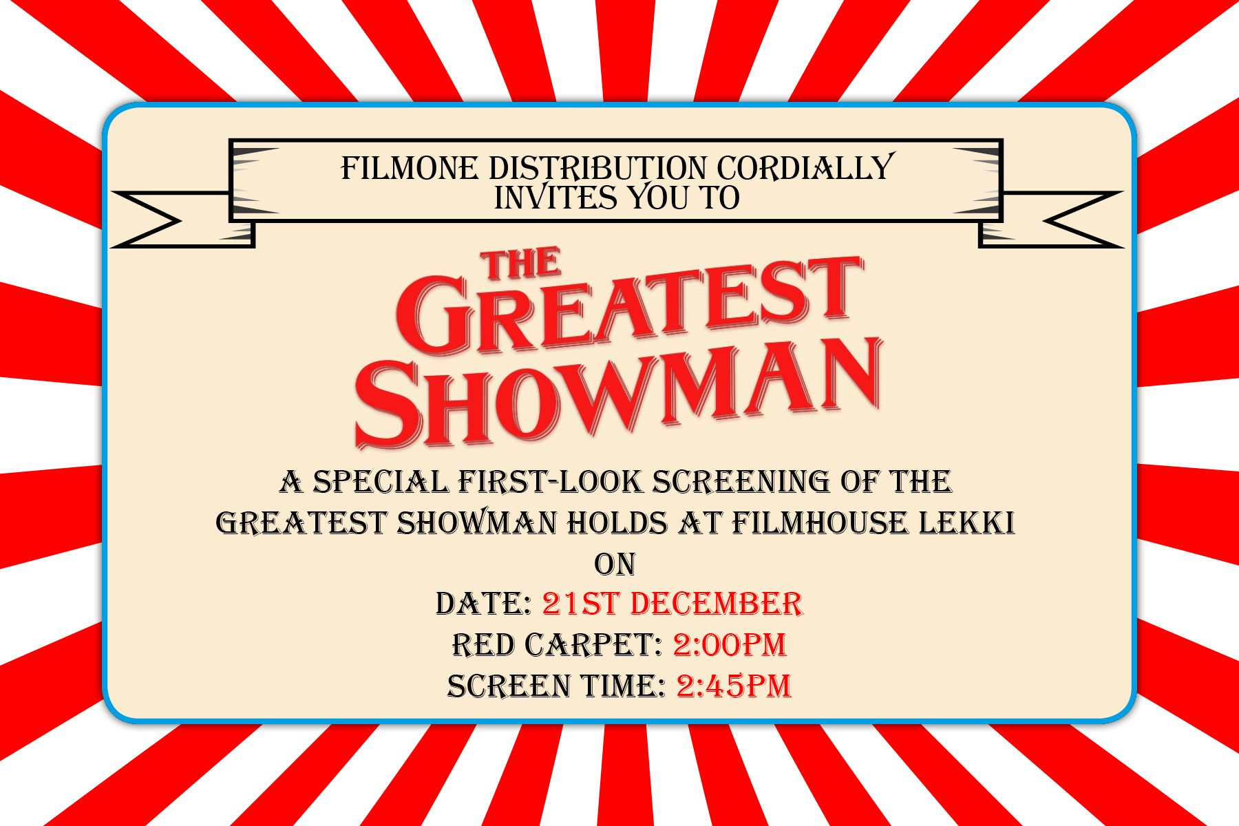 Image Result For Greatest Showman Theme Party Invitations Party Invitations Party Themes The Greatest Showman