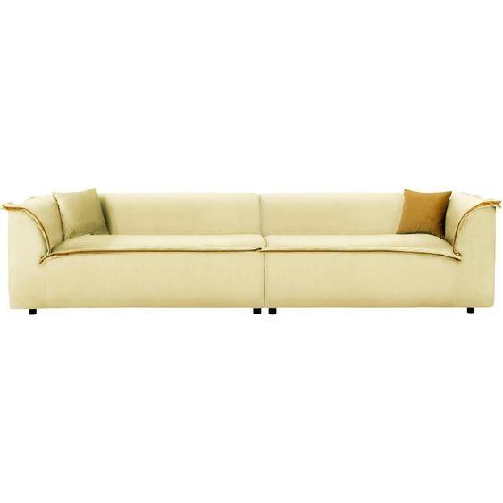 Inosign Big Sofa Porto Beige Samt Fsc Zertifiziert In 2020 Big Sofas Sofa Beige