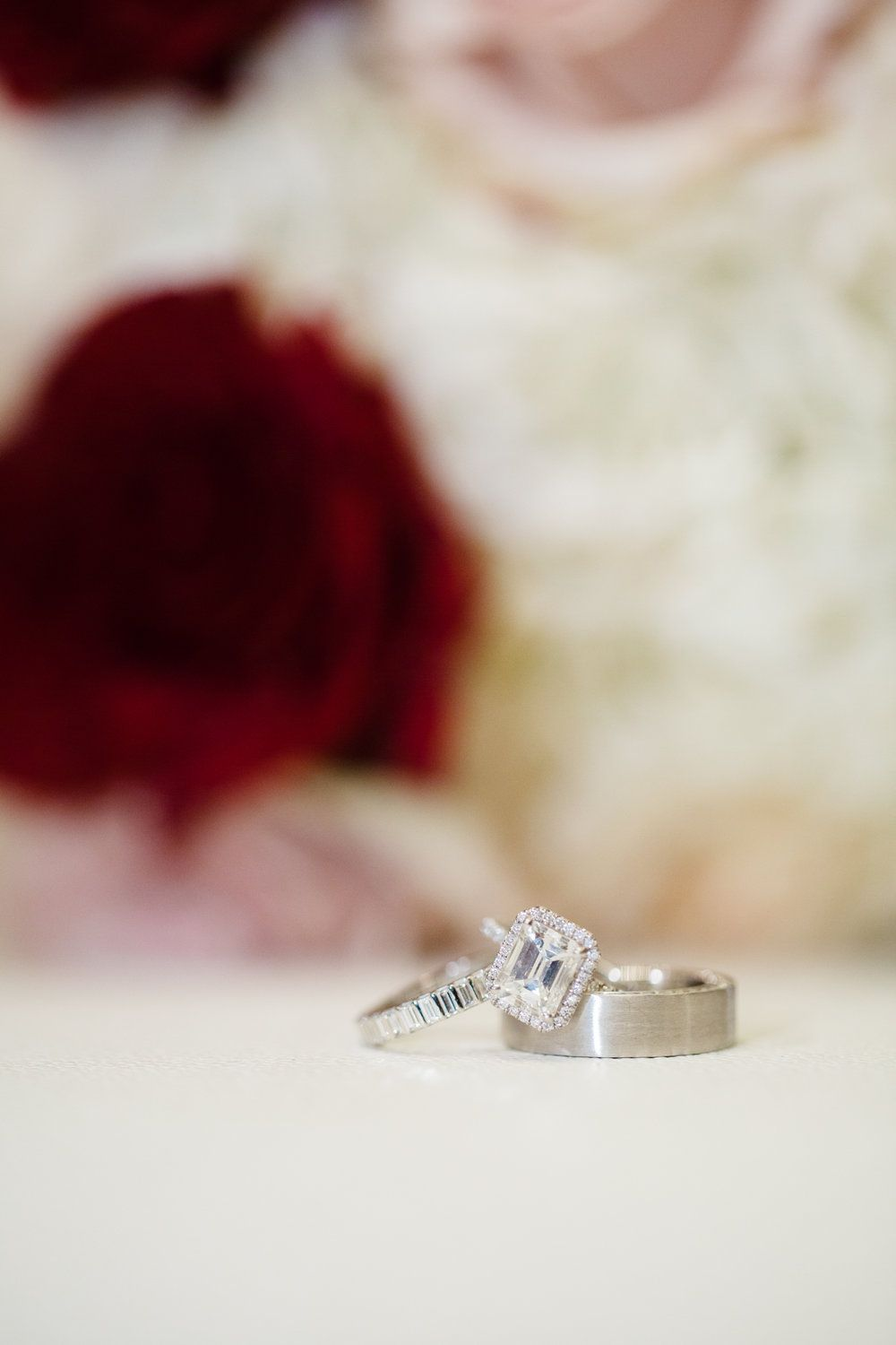 Emerald Cut Engagement Ring With Halo Www Andreaeppolitoevents Com