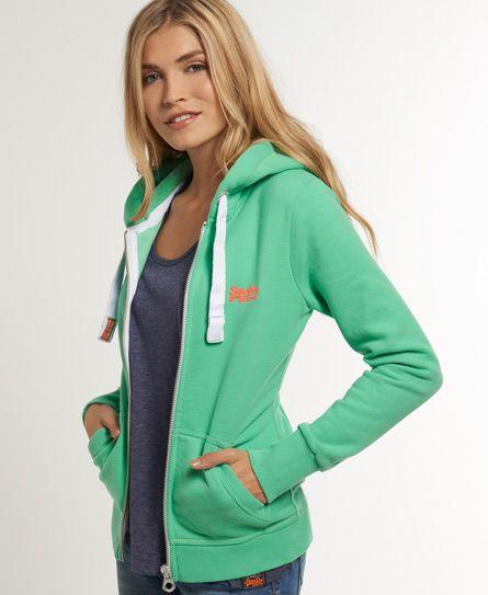 abe8356df8 Superdry Orange Label Zip Hoodie | Project | Superdry jackets, Zip ...