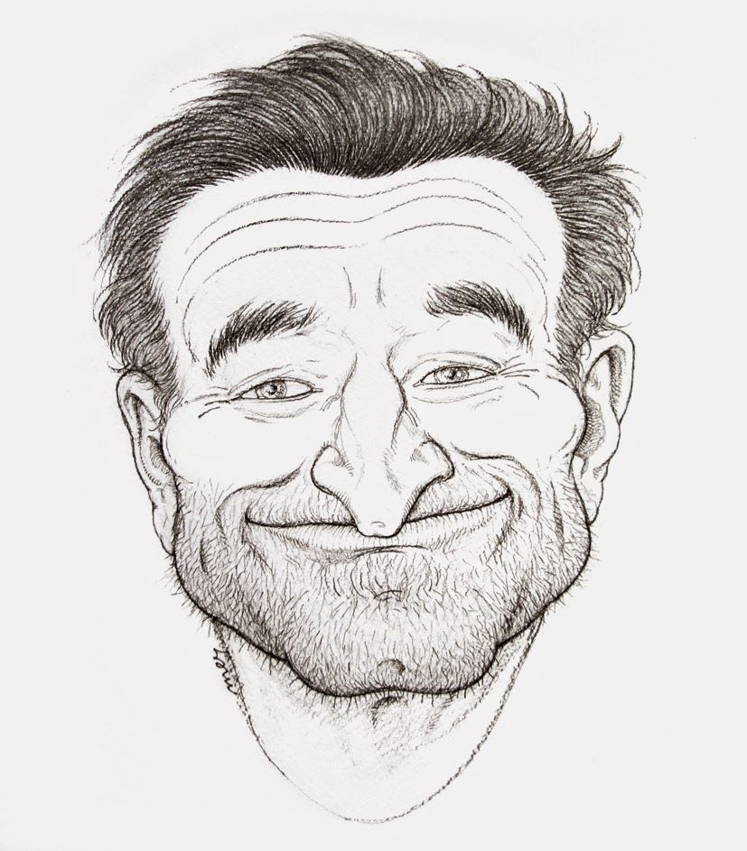 liquid drawings: For Mr. Robin Williams (1951-2014