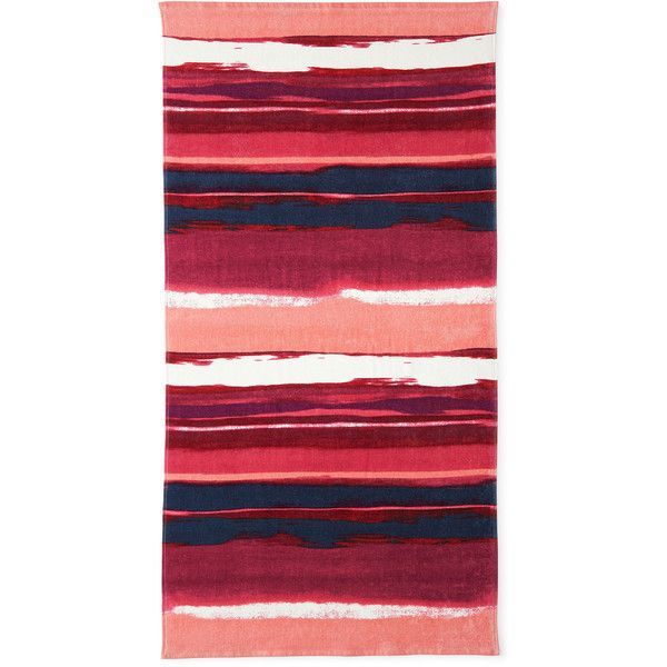 Outdoor Oasis Beach Towel (390 ZAR) ❤ liked on Polyvore featuring home, bed & bath, bath and beach towels