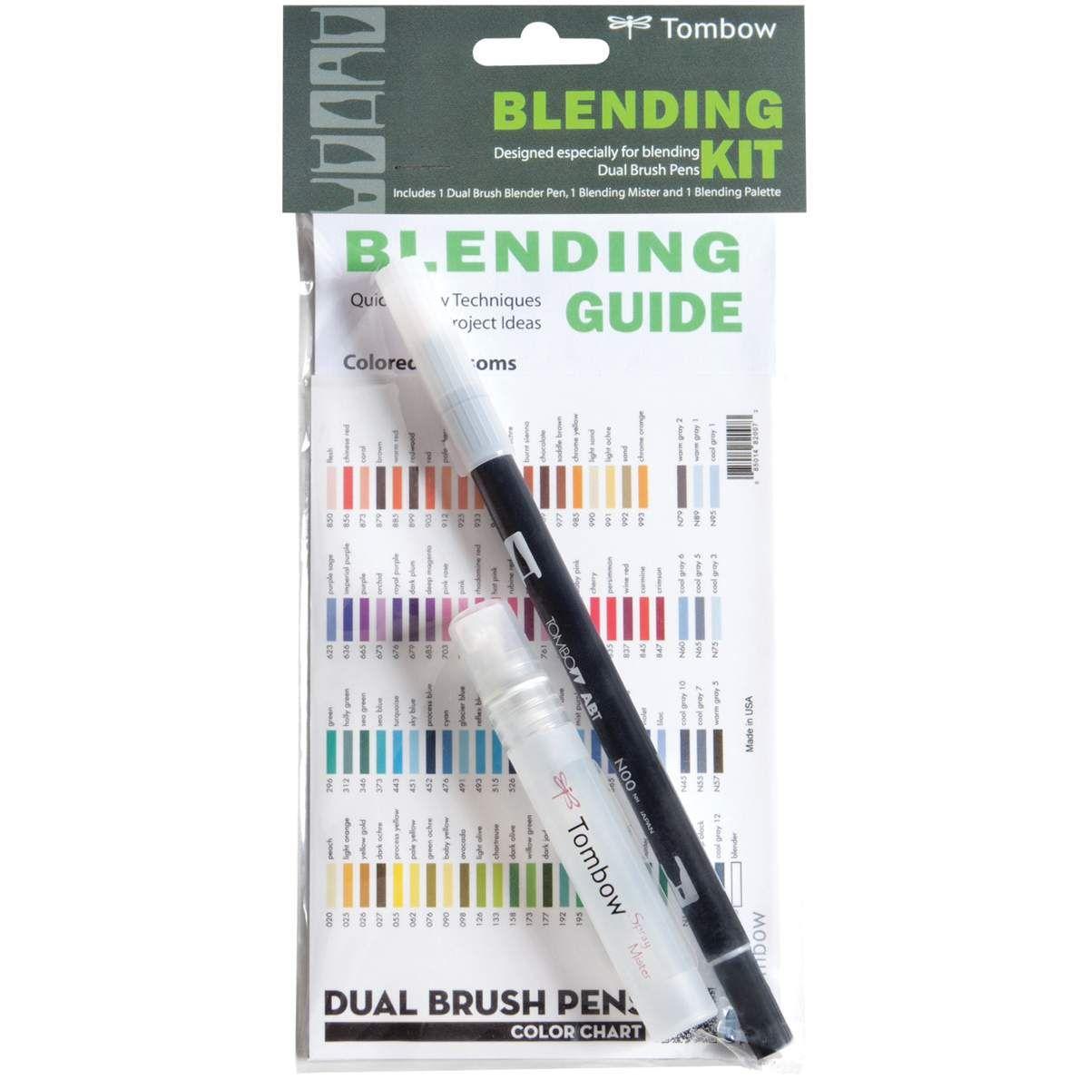 Tombow Blending Kit Tombow Dual Brush Pen Tombow Dual Brush