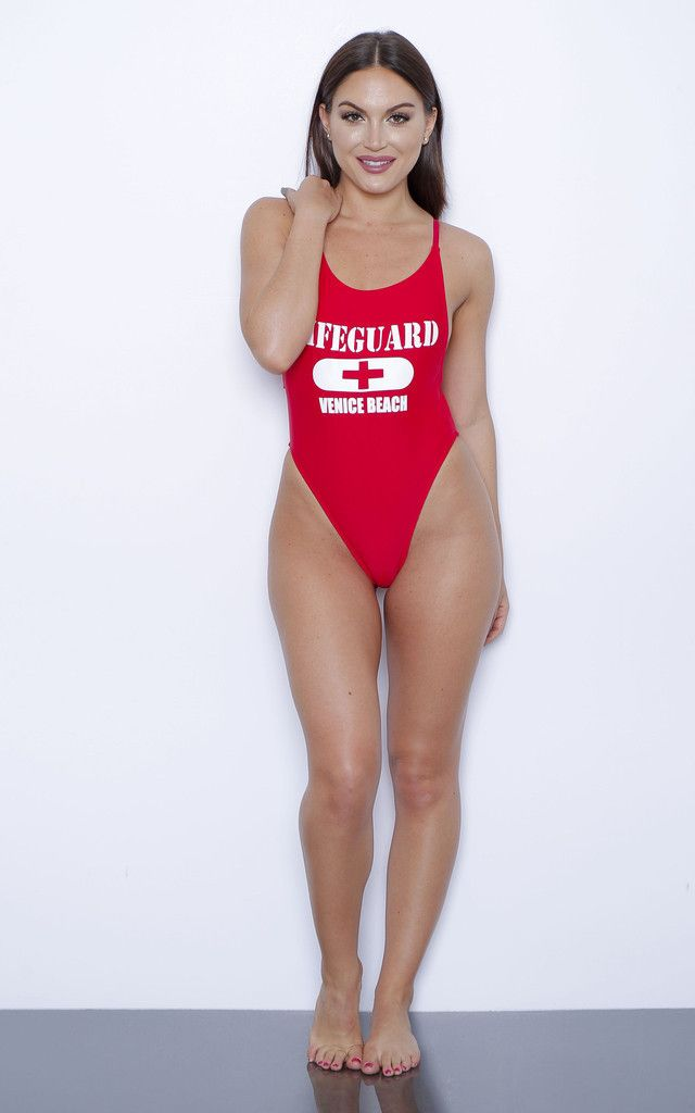 b26a023b4cdc1 Red Lifeguard Swimsuit