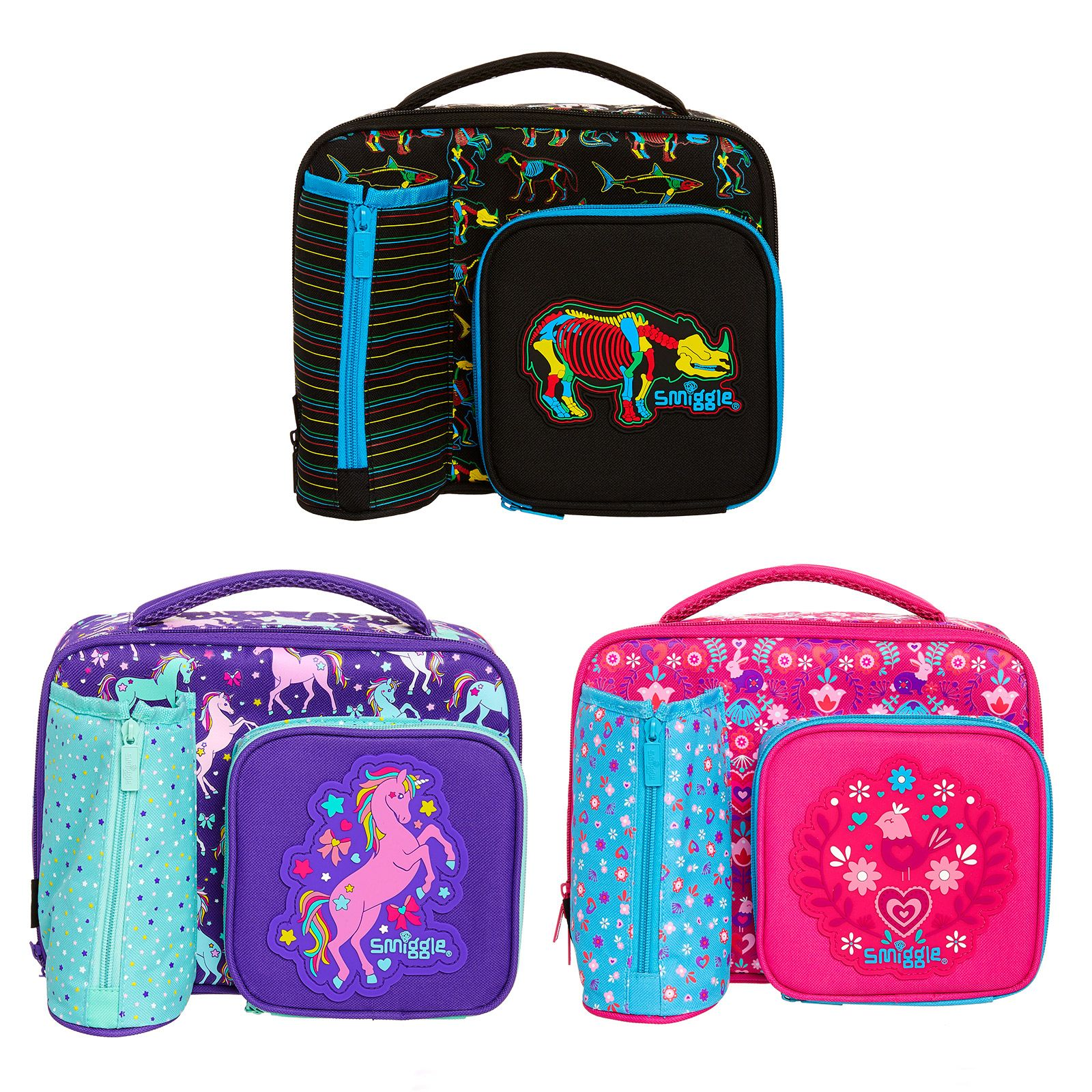 0b1246a28fc8 Spark Compartment Lunch Box | Smiggle | Bolsos | Lunch box with ...