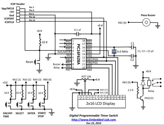 programmable digital timer switch