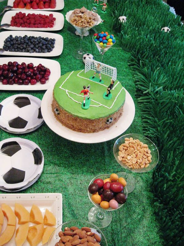 Cake Idea But Square Soccer Birthday Party Pinterest Soccer