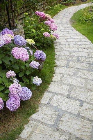 Allée en carrelage | diseño de jardines | Diseño de jardin ...