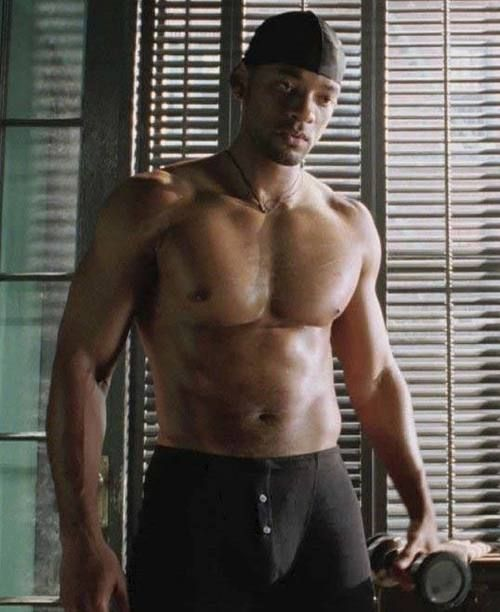 Will smith naked in irobot