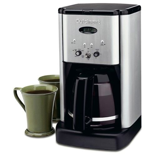 Cuisinart Brew Central 12 Cup Programmable Coffeemaker Silver Cuisinart Coffee Maker Best Coffee Maker Stainless Steel Coffee Maker