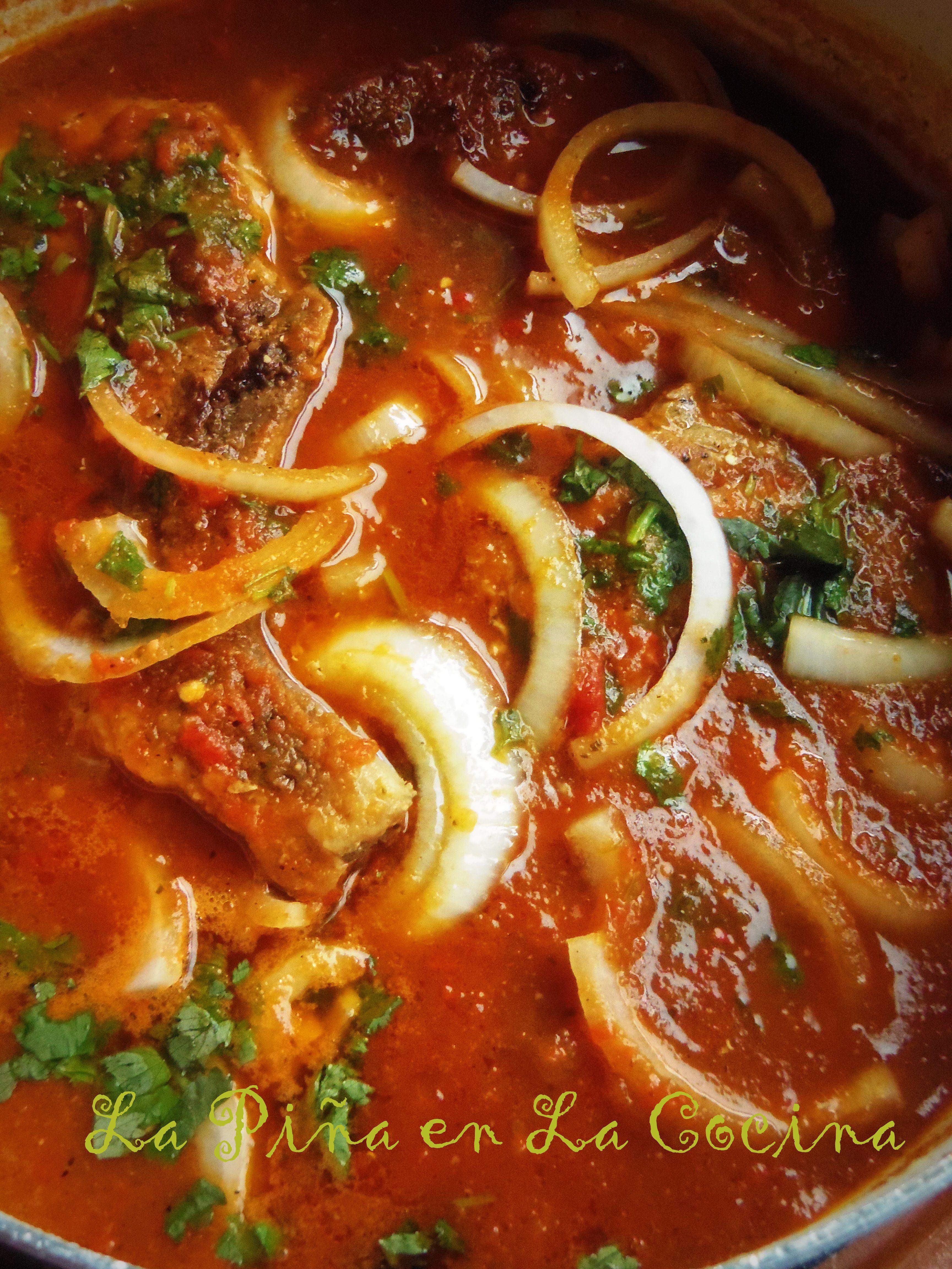 Chuletas De Puerco En Salsa Pork Chops Braised In A Fresh Tomato Salsa La Piña En La Cocina Recipe Mexican Food Recipes Authentic Mexican Food Recipes Mexican Cooking