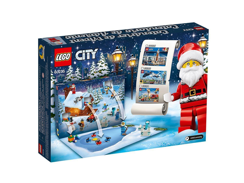 Lego City Advent Calendar Building Toy Set 60235 234 Pcs Lego