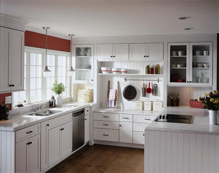 The Cabinets Are Maple The Door Style Jamestown By Diamond Cabinets Mine Are An Off White Custom Kitchen Remodel Installing Kitchen Cabinets Kitchen Cabinets