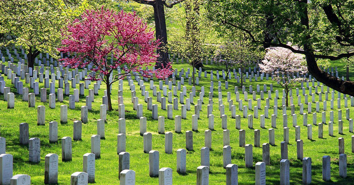 History flight achieves burial in arlington cemetery for
