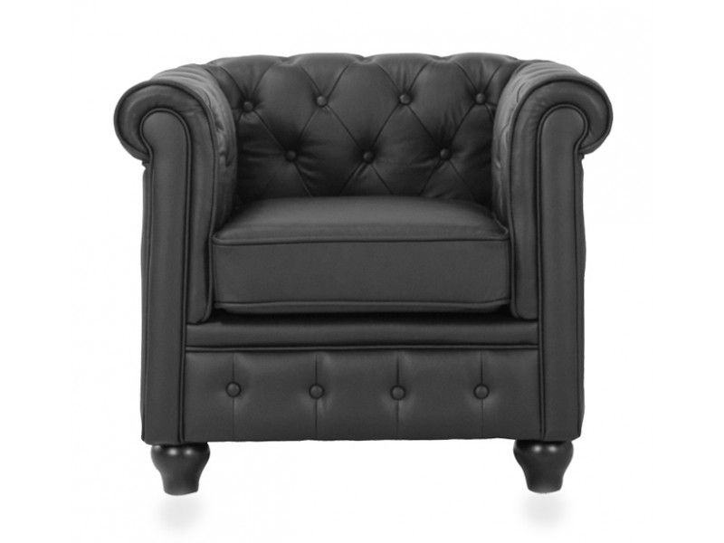 Black Chesterfield Armchairs Http://www.modani.com/furniture Stores