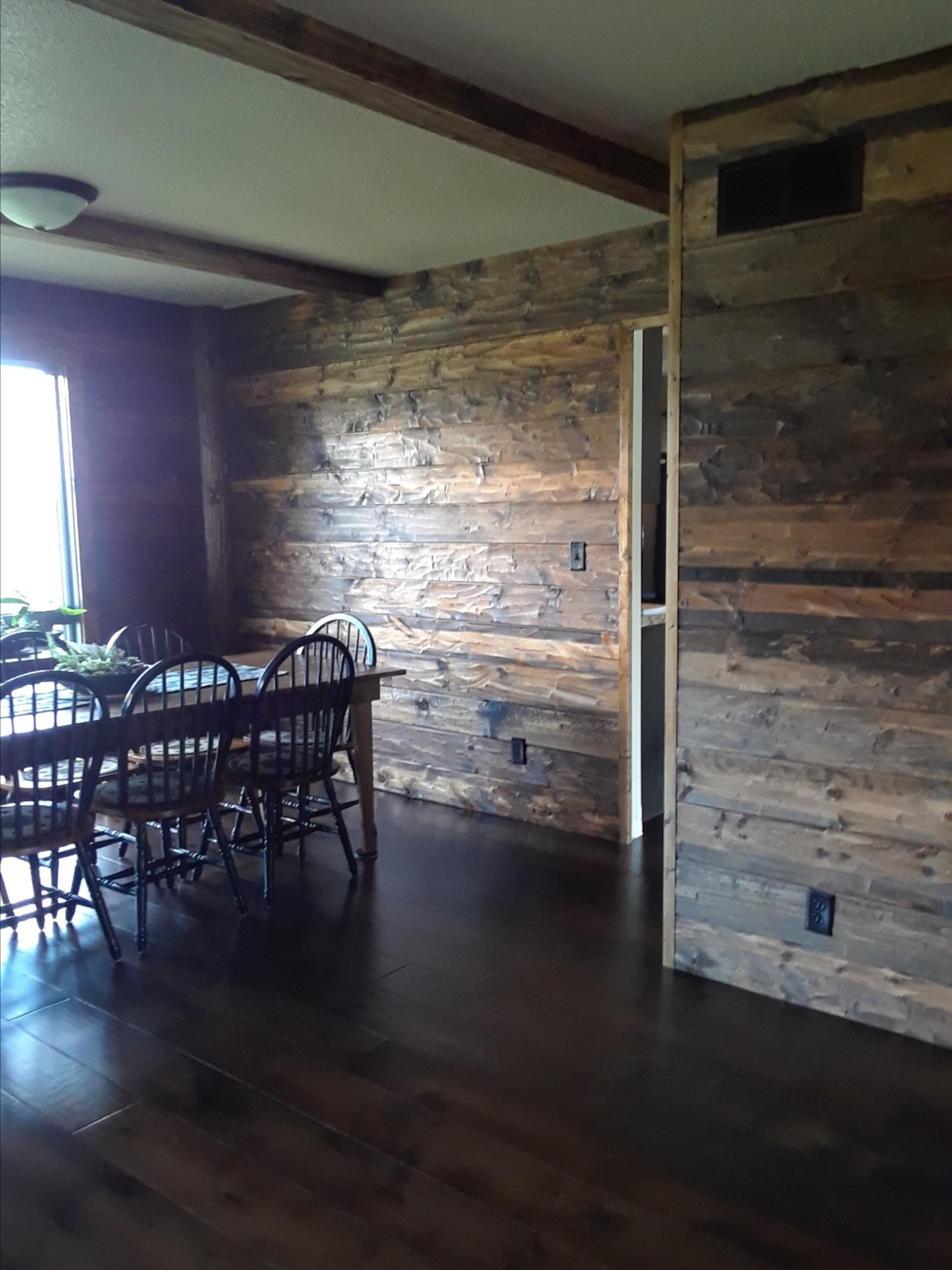 1x8 Hand Hewn Carsiding In 2020 Log Home Interior Log Homes Home
