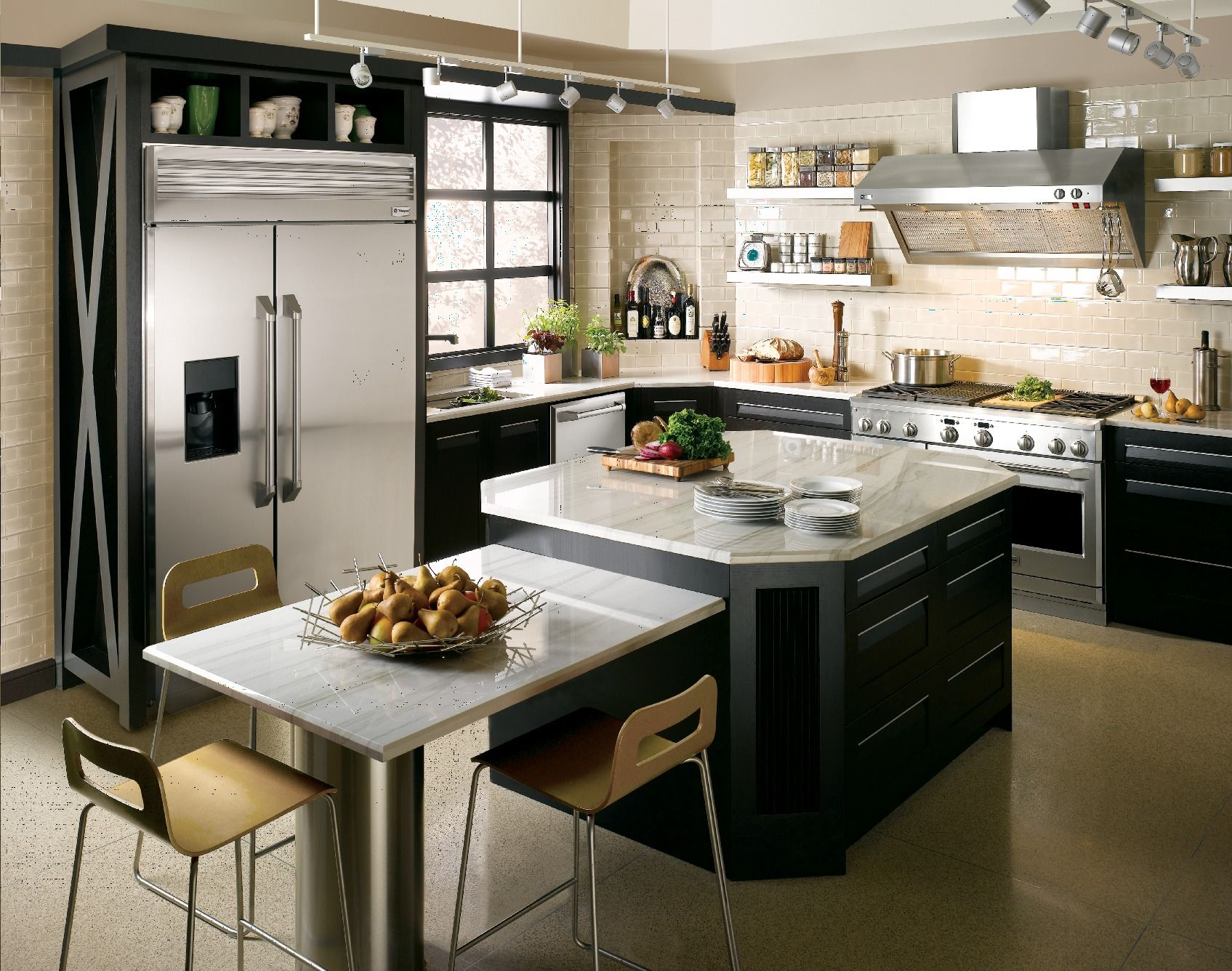 contemporary | Kitchen | Pinterest | Stainless appliances, Kitchen on