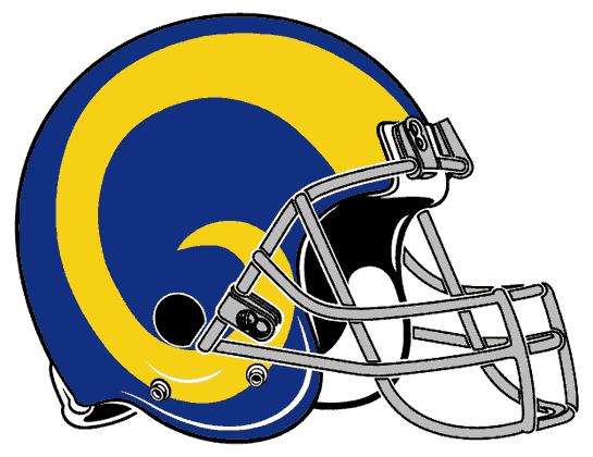 Rams Football Los Angeles Sport Decal 5 X 4