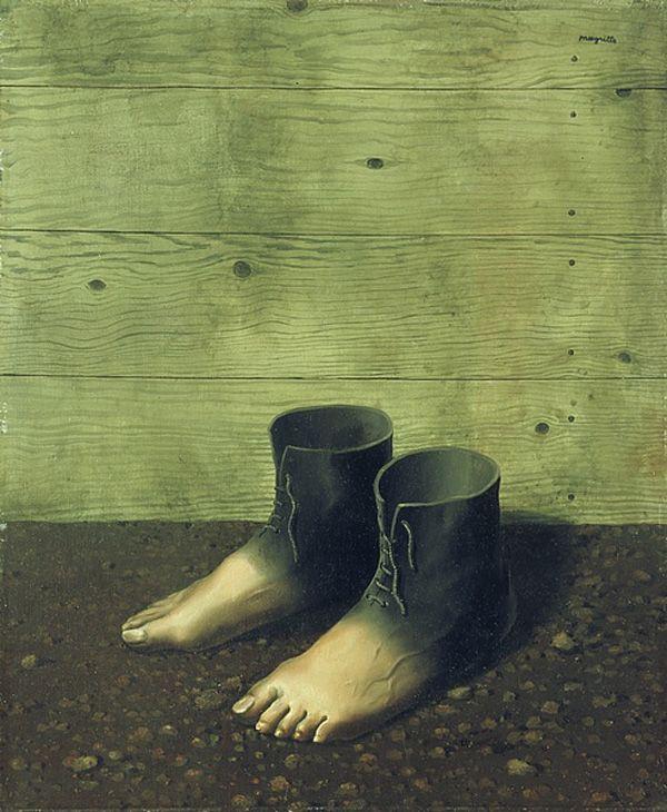 Magritte, Le Modèle Rouge, 1935