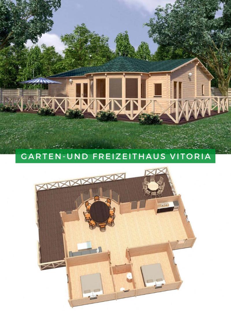 Garten Und Freizeithaus Vitoria Gartenhaus Gastehaus Haus