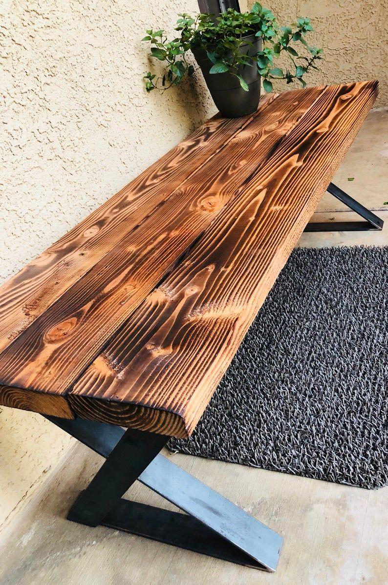 custom mid century modern steel table legs dining coffee on stunning wooden metal coffee table id=15169