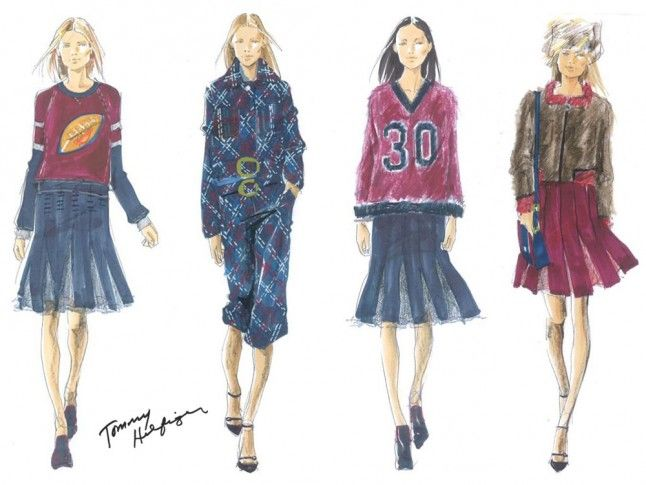 Tommy Hilfiger Fall 2015 Fashion Show And Catwalk Pictures From New York Fashion Week | Marie Claire