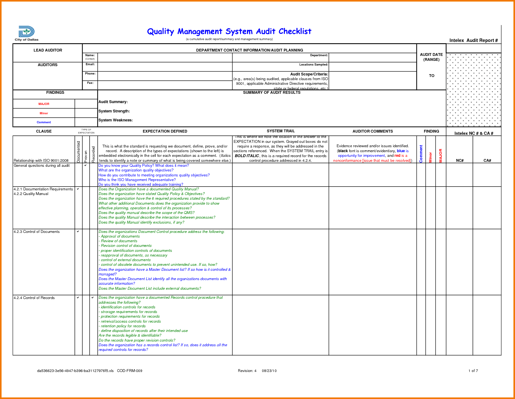 Sample Internal Audit Report KPMG (With images) Internal