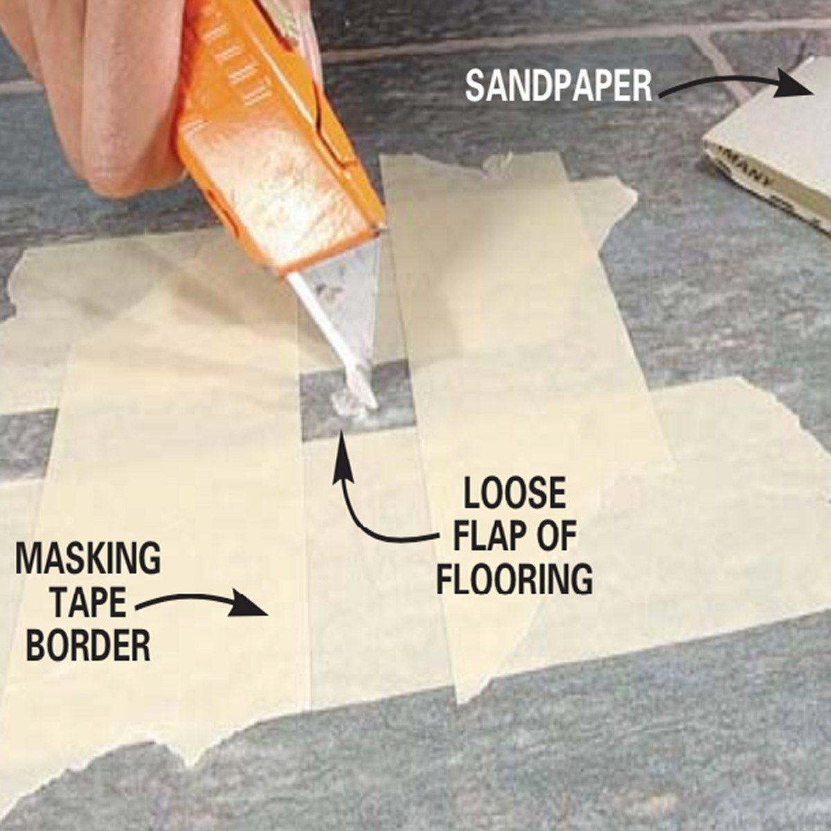 Repairing Vinyl Flooring With Images Vinyl Flooring Flooring