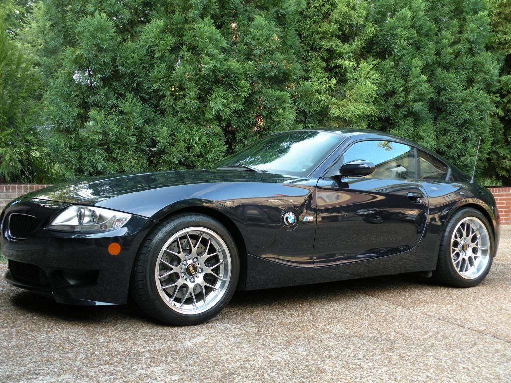 2007 Bmw Z4 M Coupe Monaco Blue Metallic Over Light