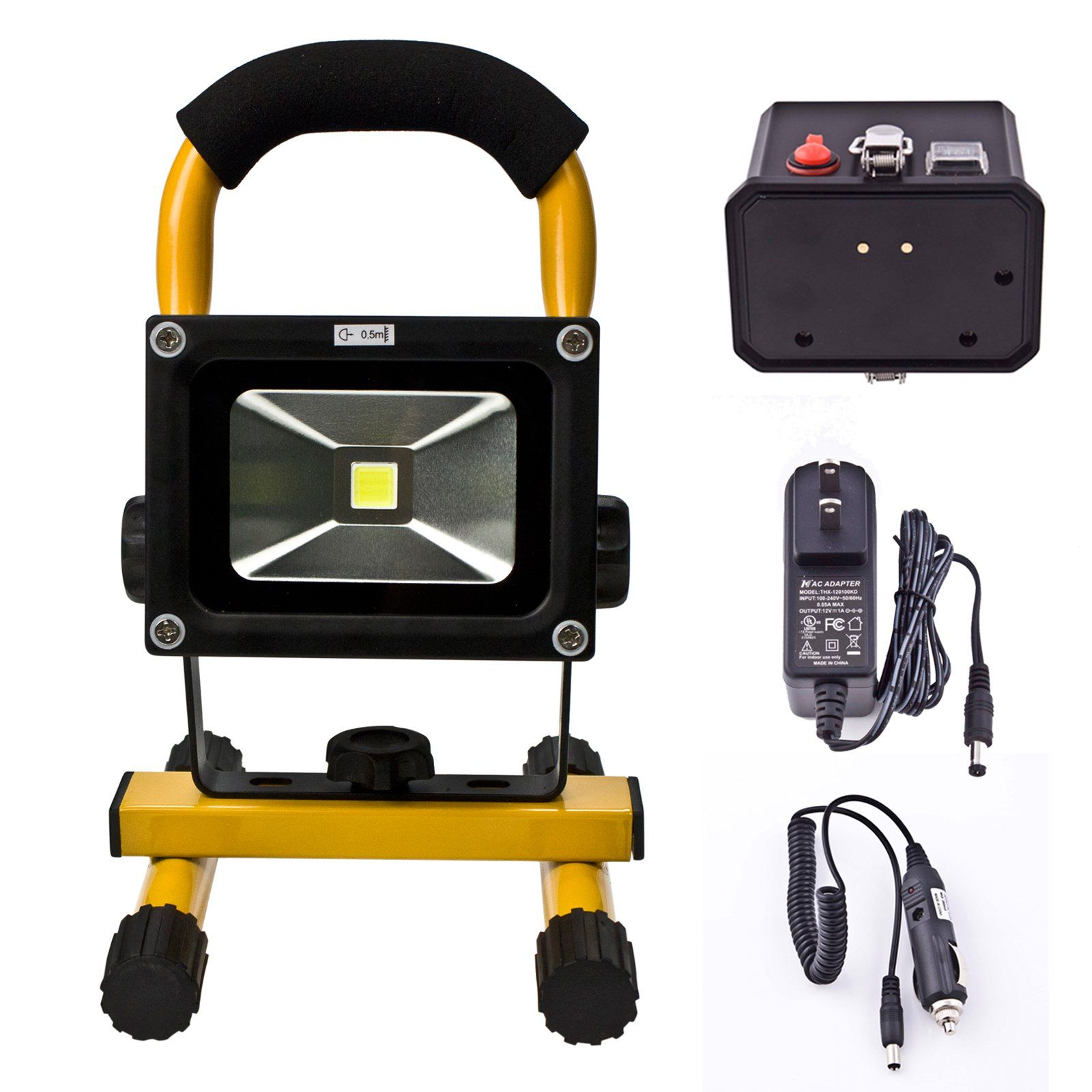 Robot Check Rechargeable Work Light Flood Lights Work Lights
