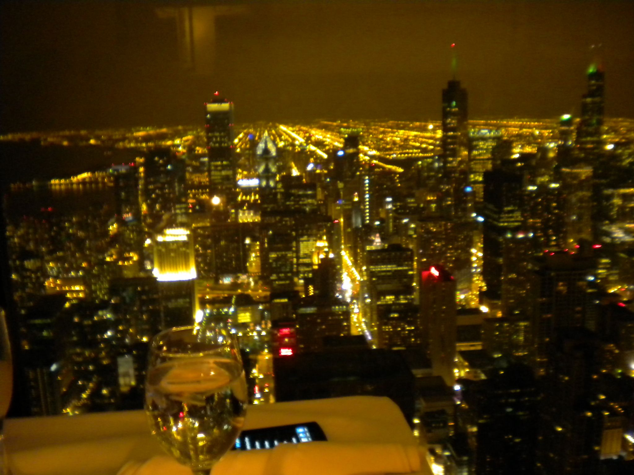 97th Floor Of A Wonderful Restaurant While On A Business Trip In Chicago, IL