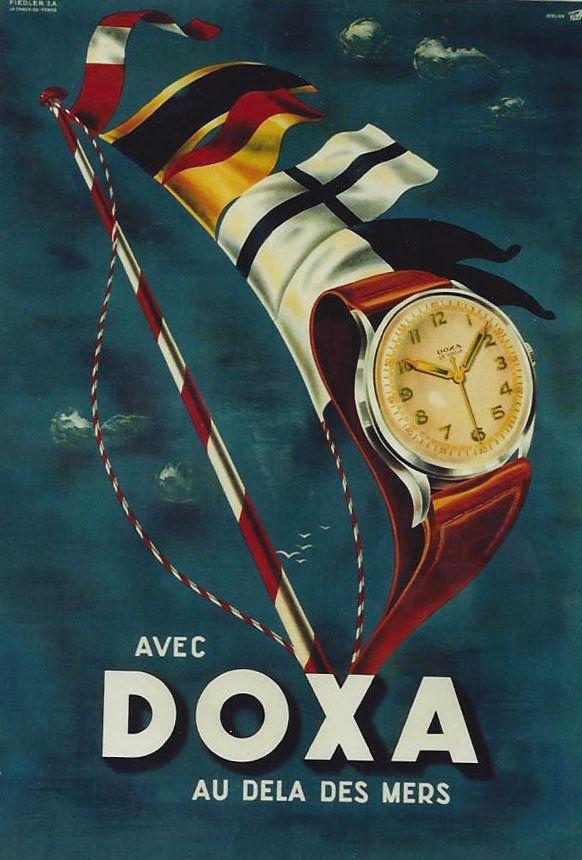 Men's Vintage Watches: 1932 Doxa advertisement ‹ Strickland Vintage Watches